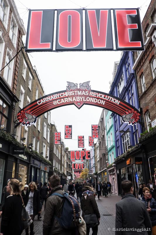 carnaby street a natale