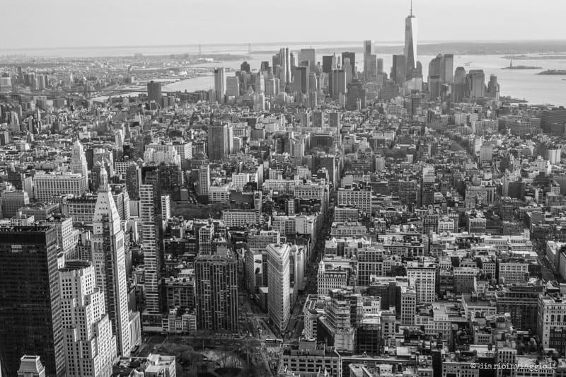 città dall'alto