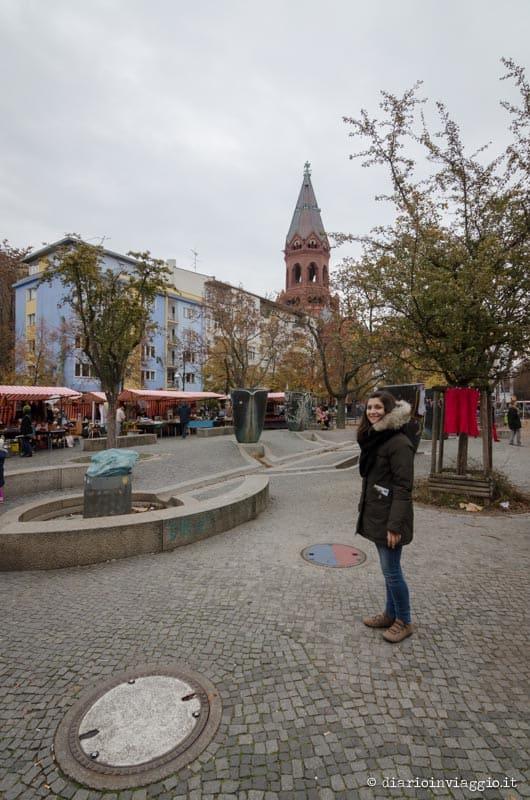 Flohmarkt am Marheinekeplatz