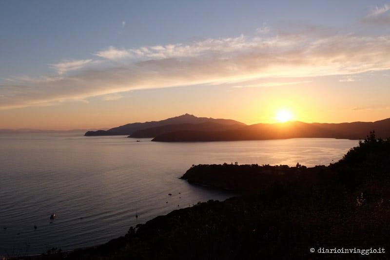 tramonti dal monte calamita