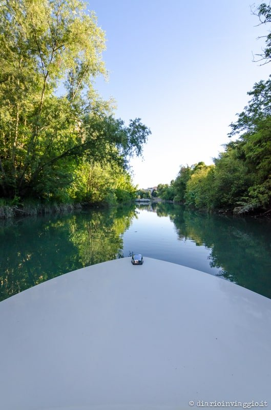 Barca elettrica fiume lemene