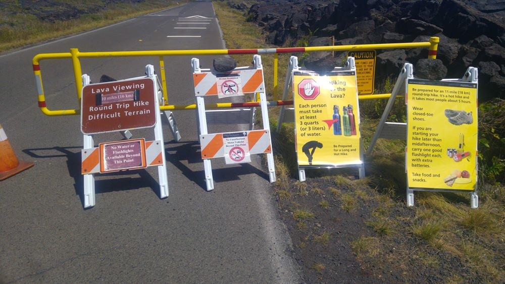 consigli escursione lava