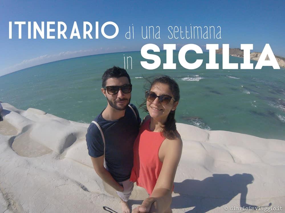 itinerario di una settimana in sicilia orientale