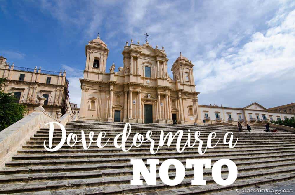 dove dormire a Noto, Sicilia