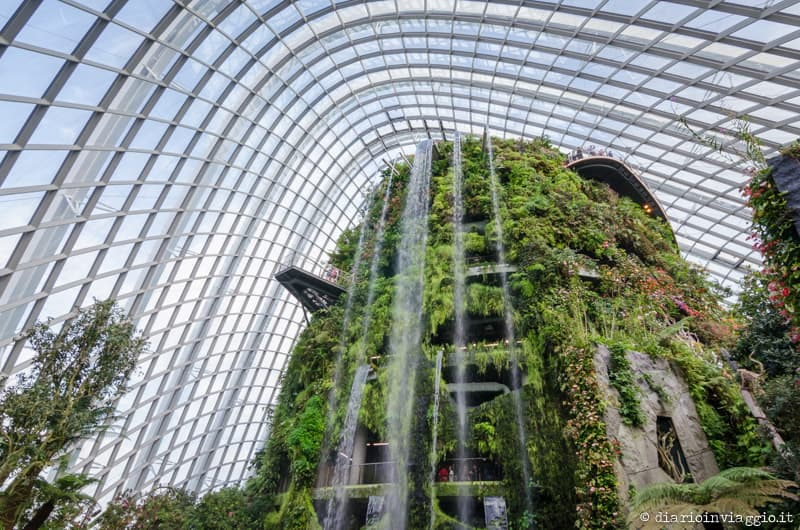 cloud forest gardens by the bay singapore-13