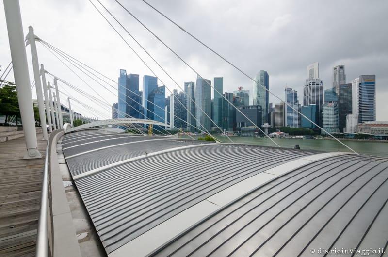 Promenade verso il Marina Bay Sands