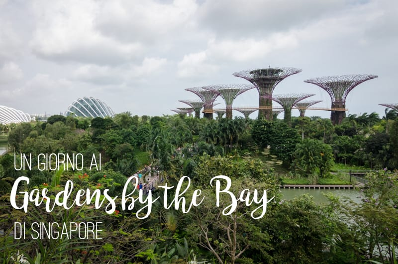 Un giorno ai Gardens by the Bay di Singapore