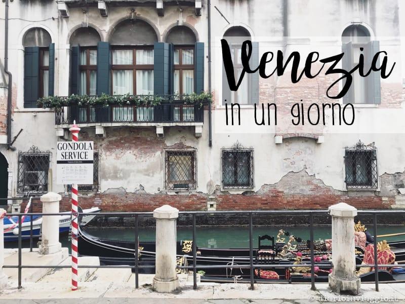 Venezia in un giorno dalla stazione di Santa Lucia