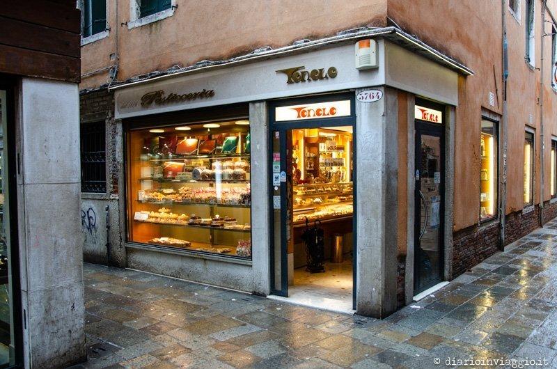 Le migliori pasticcerie di Venezia - Pasticceria Tonolo
