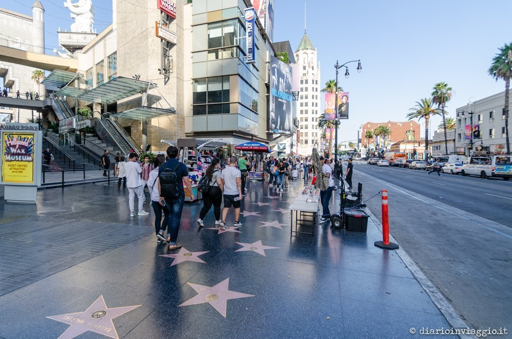 Walk of Fame Hollywood - Los Angeles