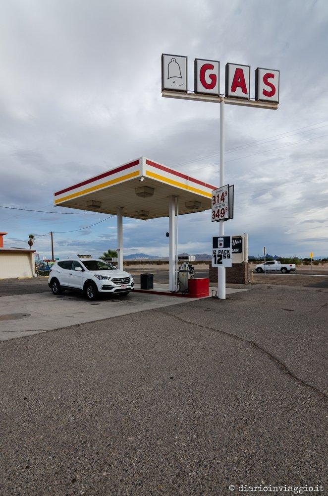 fare benzina negli USA