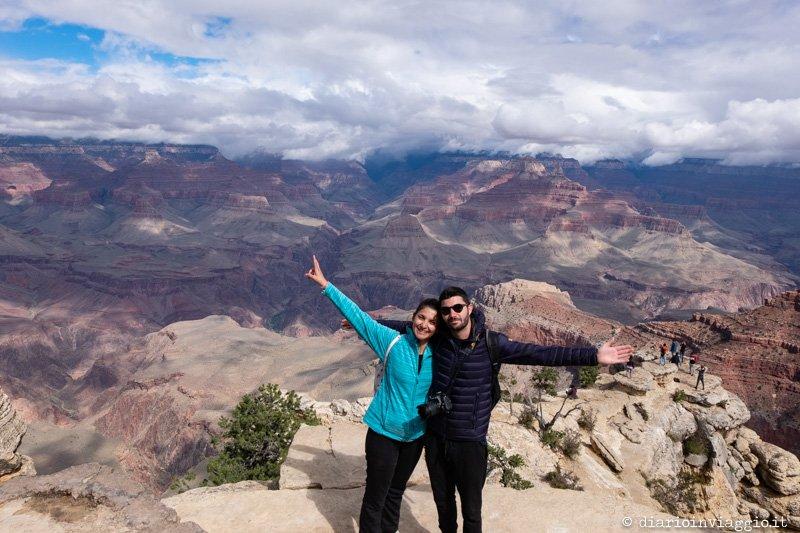 visitare il grand canyon rim trail