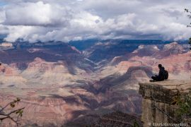 visitare il grand canyon rim trail