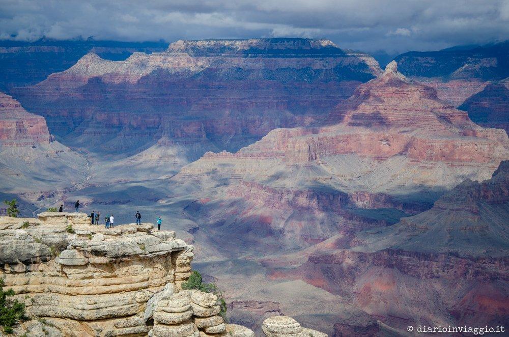 visitare il grand canyon south rim