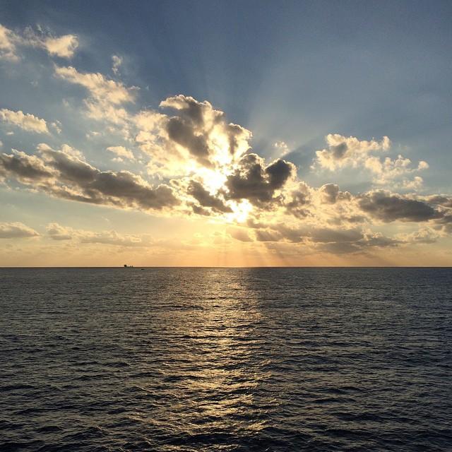 E tramonti belli da fare paura