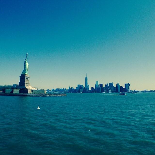 New York, il grande viaggio dall'altra parte dell'oceano è avvenuto ad aprile