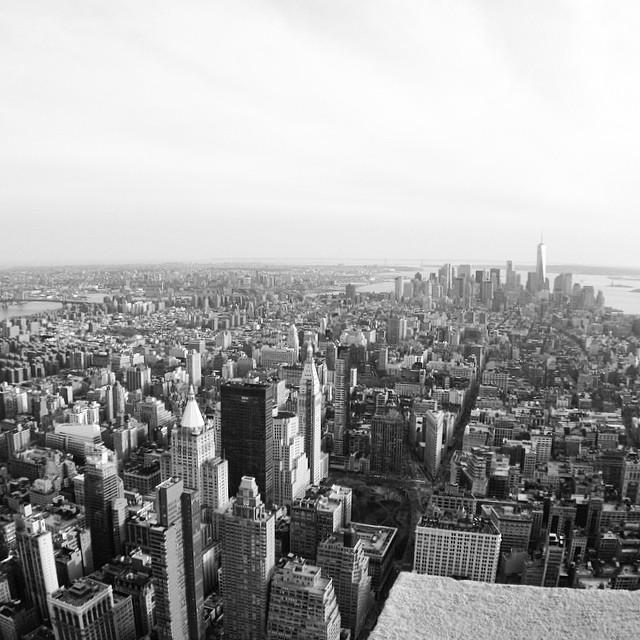 Big city life, dall'alto del Top of the Rock
