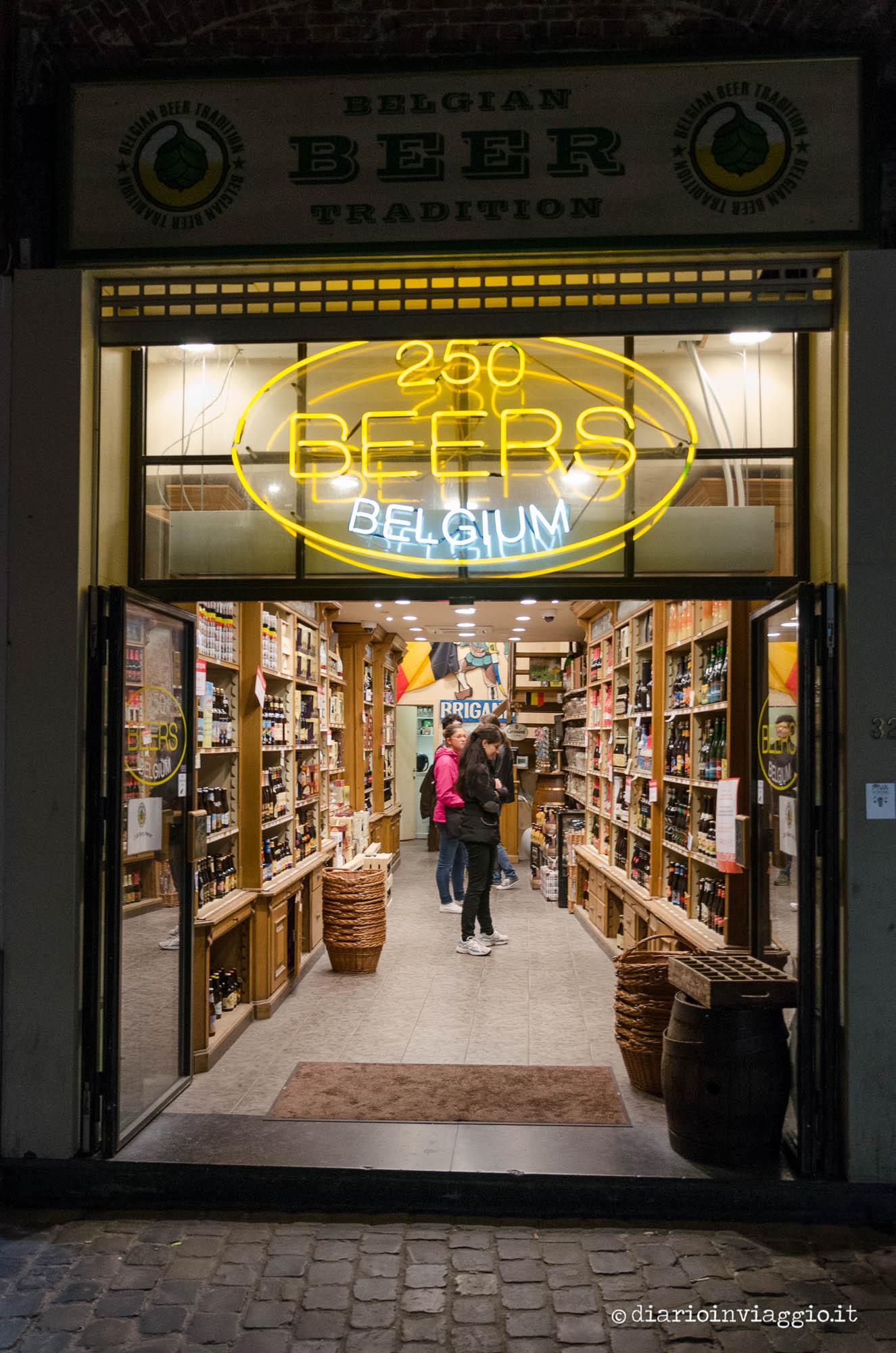 Negozi di birra Bruxelles
