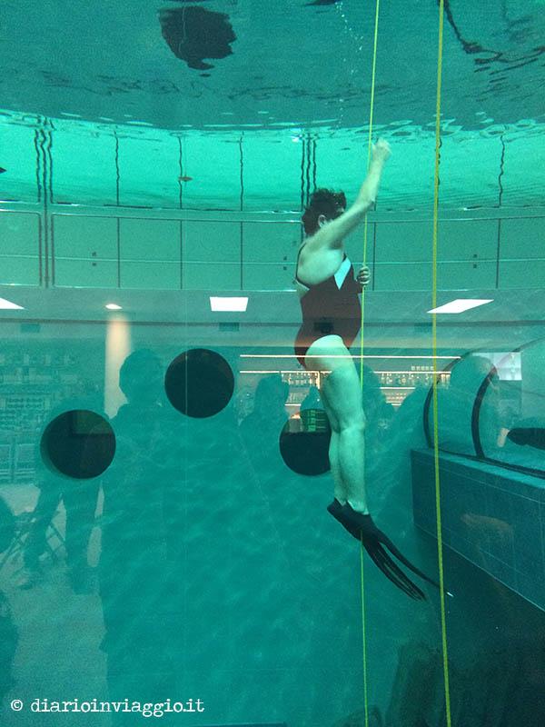 Y-40 la piscina più profonda del mondo a Montegrotto