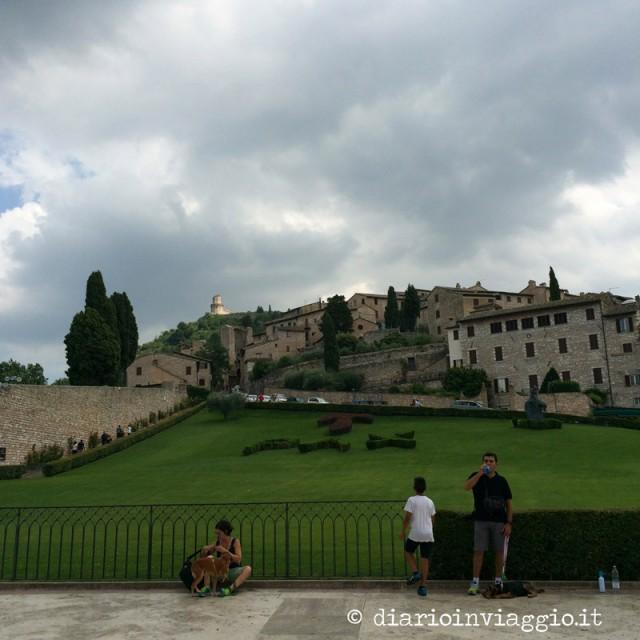 Assisi basilica san Francesco