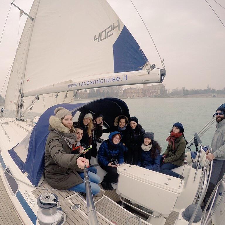 Il giro in barca in laguna con il gruppo di Bluewago e Race&Cruise