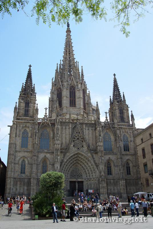 la cattedrale cosa vedere a barcellona