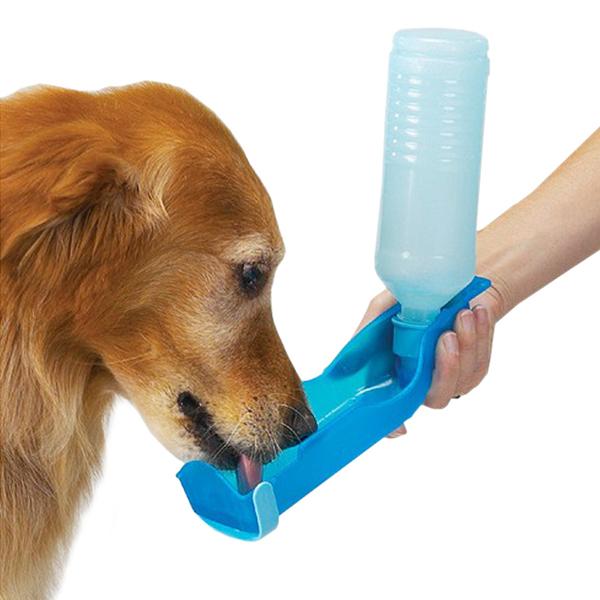 Bottiglia dispenser cani