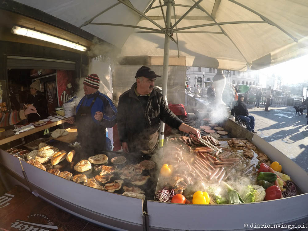 Street food a Lubiana