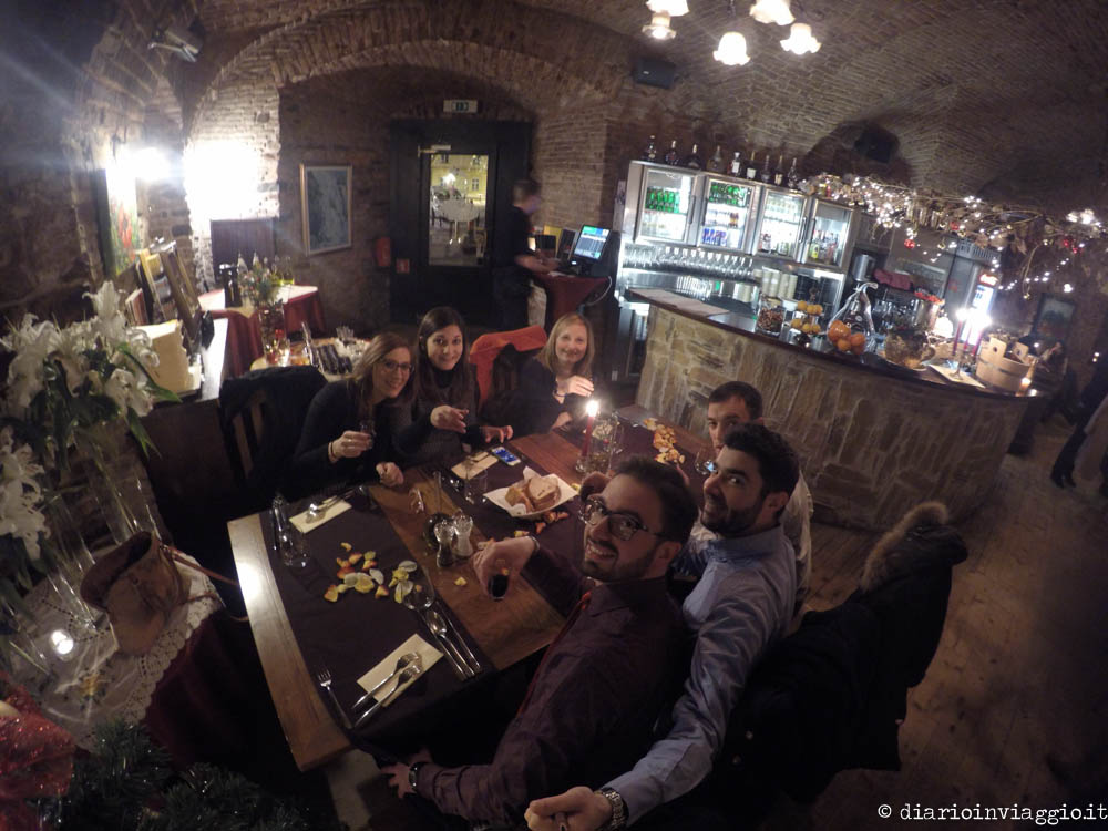 Cena al calduccio al Vodnikov Hram di Lubiana