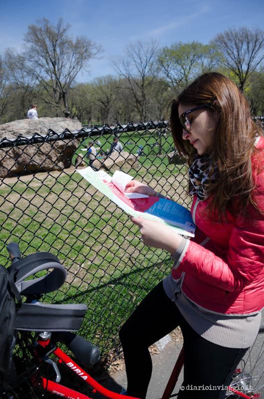 La mappa di Central Park è uno strumento molto utile!