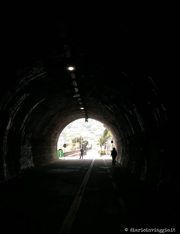 La pista ciclabile tra Levanto e Framura