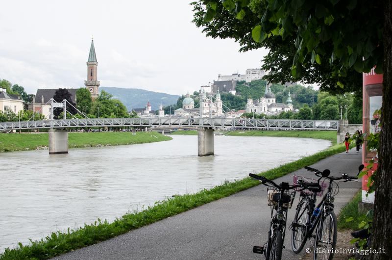 Pista ciclabile Salisburgo