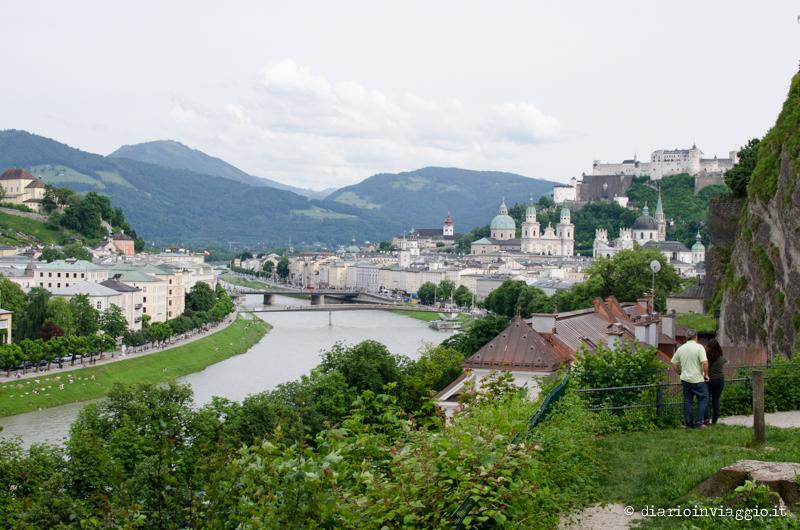 Vista dalla Moenchsberg
