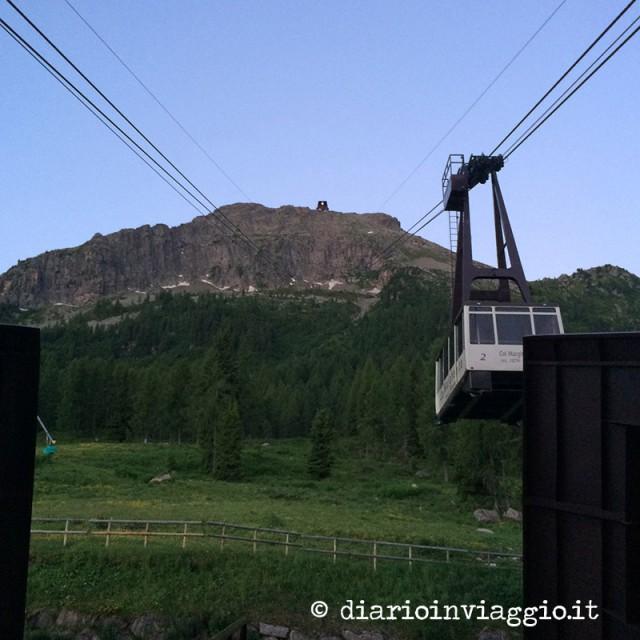 La cabinovia del Col Margherita