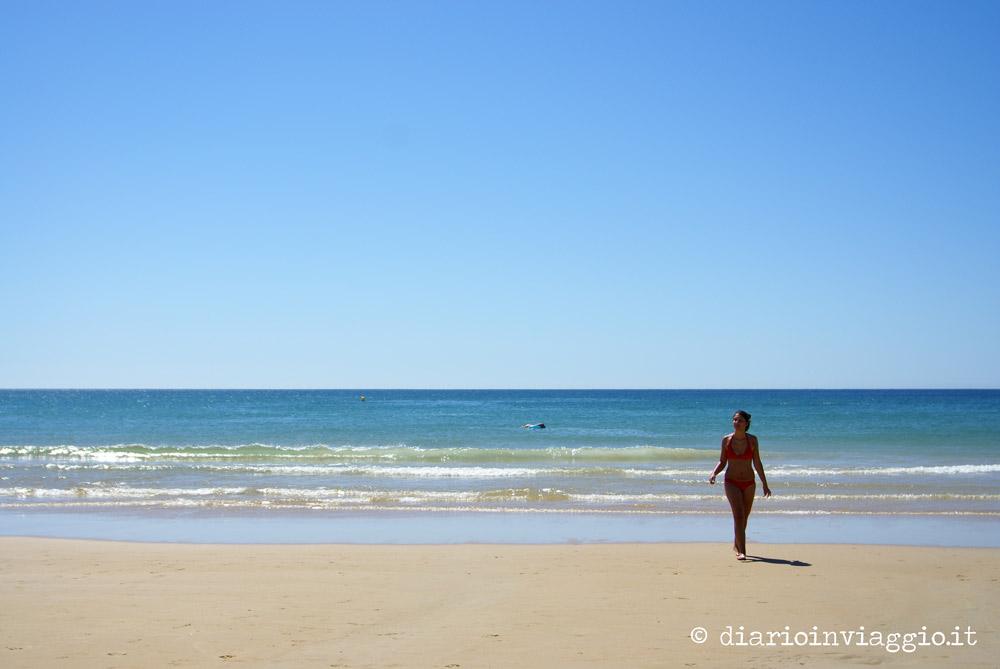 La spiaggia di Conil de la Frontera