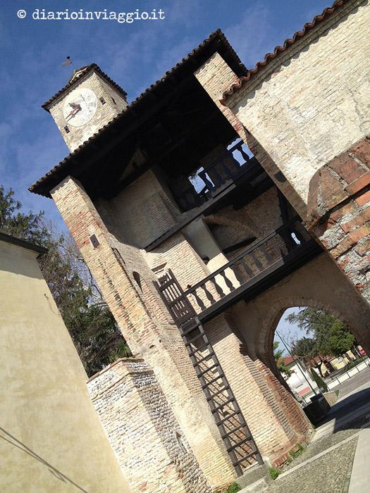 La torre d'accesso