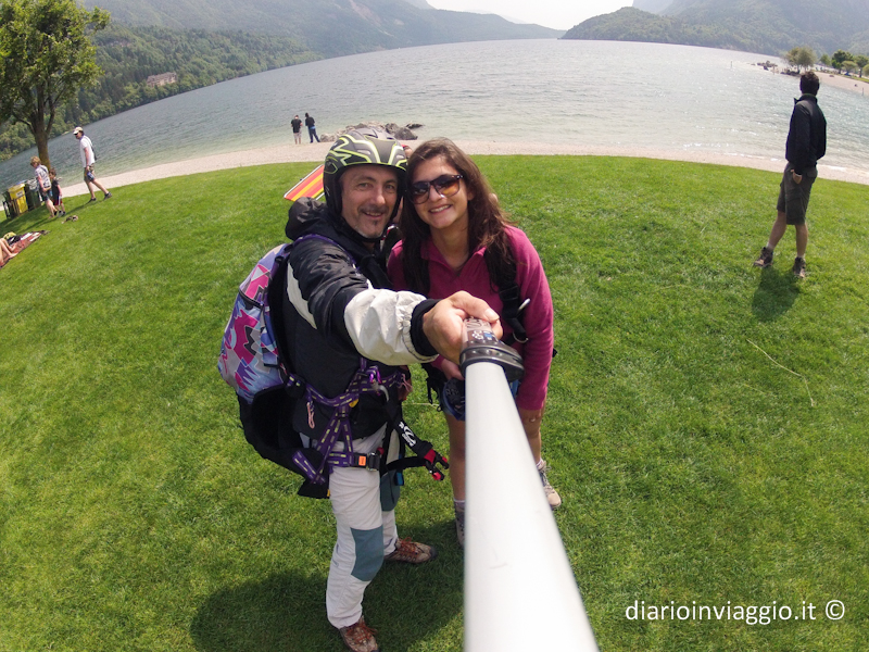 Lago di Molveno Parapendio