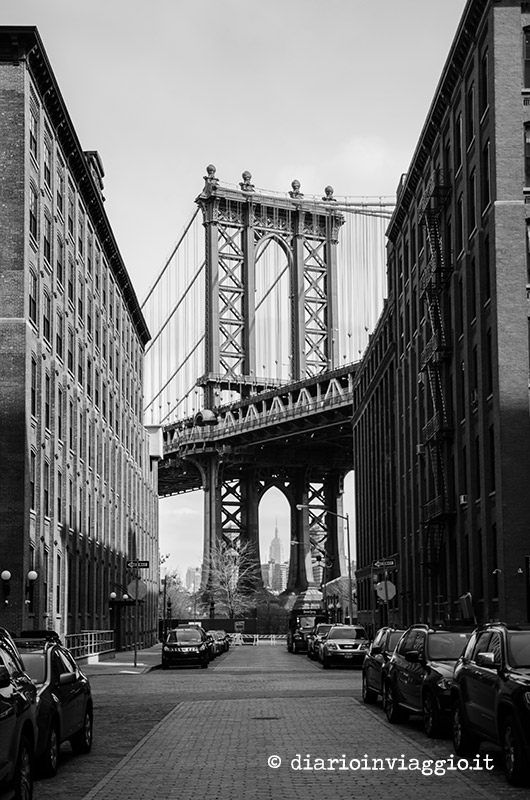 Manhattan Bridge da Dumbo