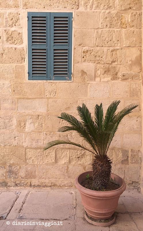 Particolari dalle vie di Mdina a Malta