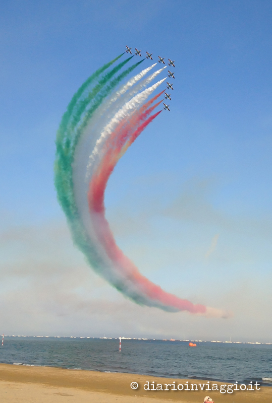 Frecce tricolori Lignano Sabbiadoro