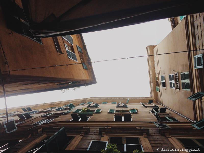 Gli alti palazzi di Pré