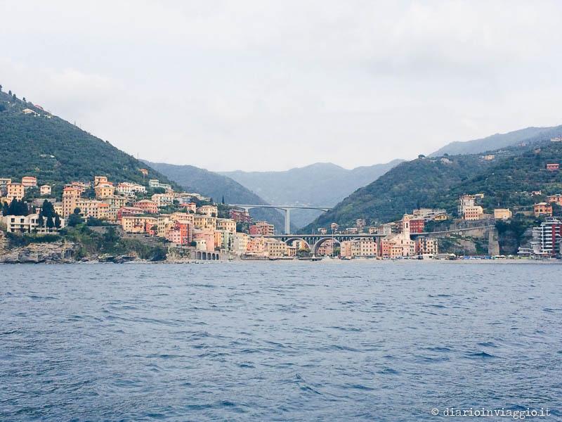 Genova dalla barca a vela