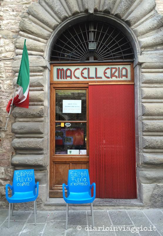 Botteghe e negozietti a Gubbio