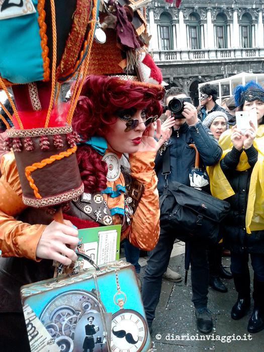 Fotografi scatenati carnevale di venezia