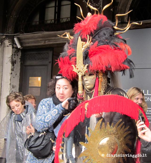 Il turista invadente carnevale di venezia