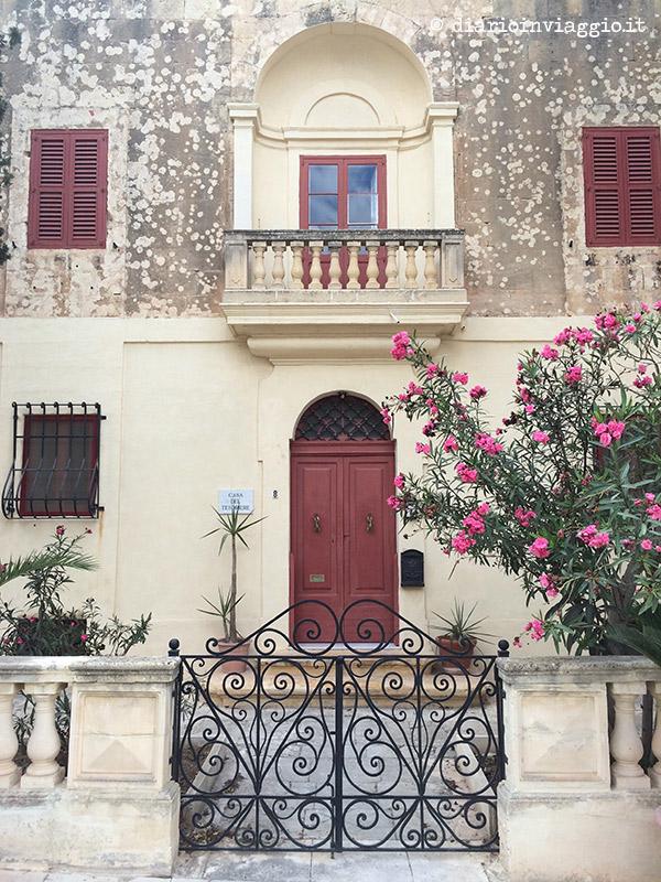 La casa del tesoriere a Mdina, Malta