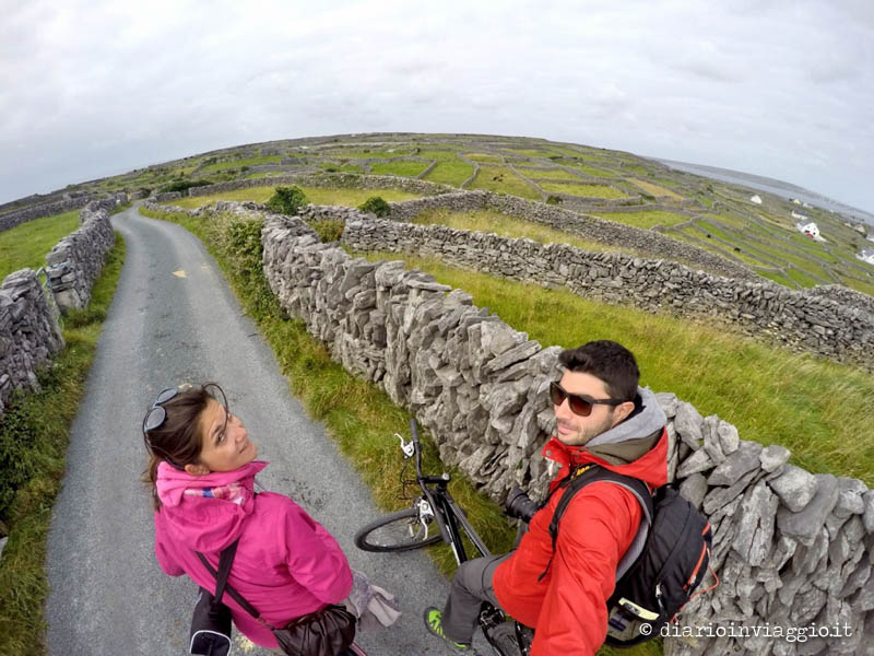 Inisheer in bicicletta, isole Aran