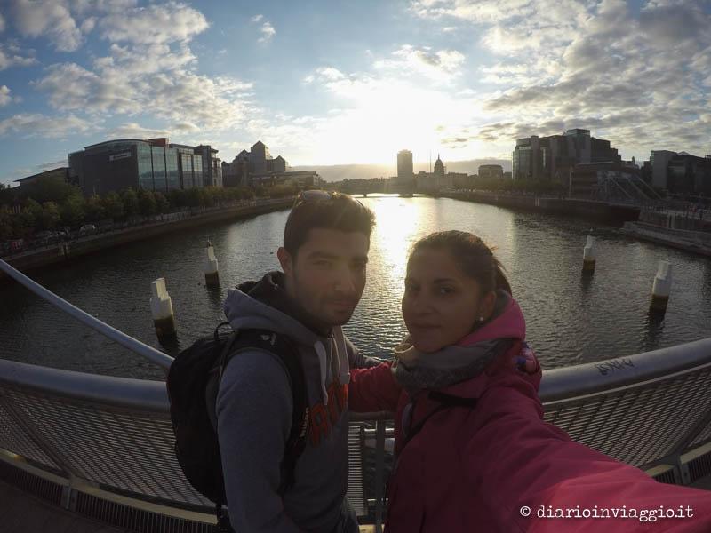 Passeggiando lungo il fiume di Dublino