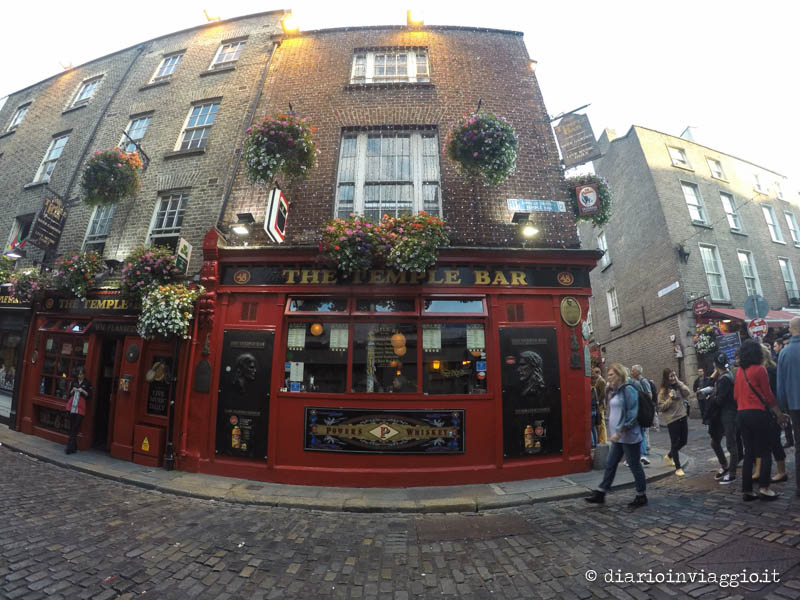 Il Temple Bar a Dublino