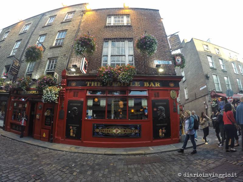 Il Temple Bar a Dublino